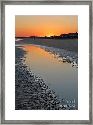 Ocean Tidal Pool Framed Print by Kevin McCarthy