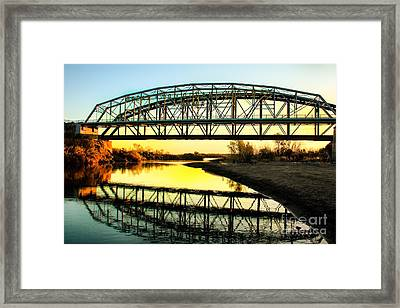 Ocean-to- Ocean Bridge Framed Print by Robert Bales