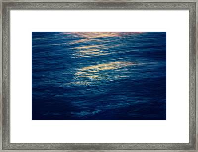 Framed Print featuring the photograph Ocean Twilight by Ari Salmela