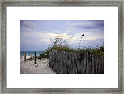 Ocean View 2 - Miami Beach - Florida Framed Print by Madeline Ellis