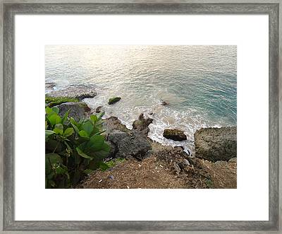 Ocean View Framed Print by Zefanya Yenny
