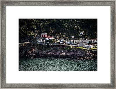 Ocean Village Framed Print