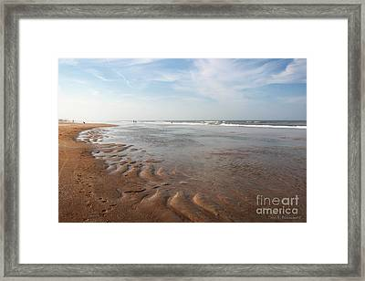 Framed Print featuring the photograph Ocean Vista by Todd Blanchard