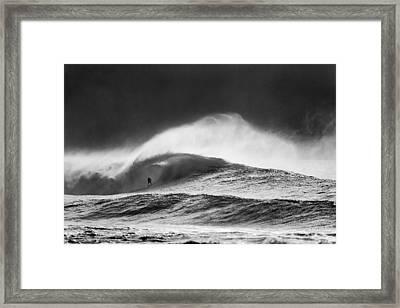 Steam Roller Framed Print by Sean Davey