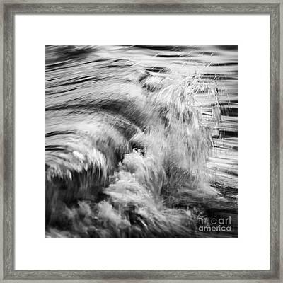 Ocean Wave Iv Framed Print by Elena Elisseeva