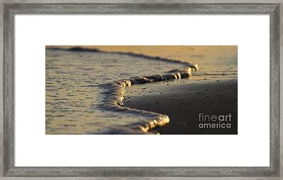 Ocean Waves Framed Print by Dustin K Ryan