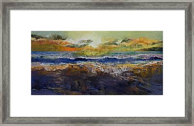 California Waves Framed Print by Michael Creese