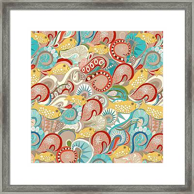 Ocean Waves Framed Print by Sharon Turner