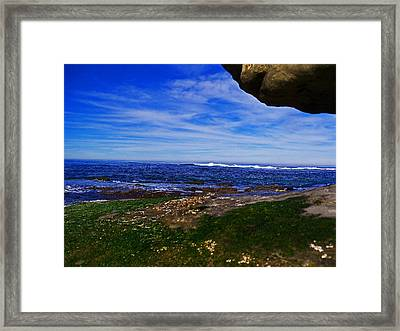 Ocean Welcome Framed Print