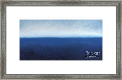 Oceanic Meditation Framed Print by Tiffany Davis-Rustam