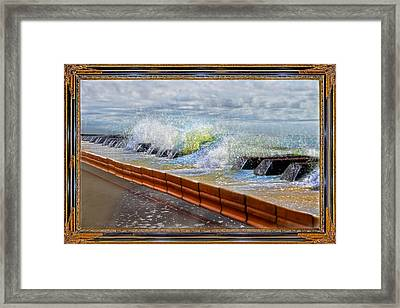 Oceanic Notes Framed Print
