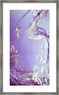 Oceanography Framed Print