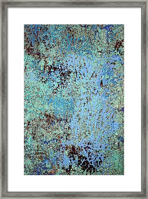 Oceans Hues Framed Print by James Mancini Heath