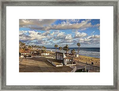 Oceanside Amphitheater Framed Print