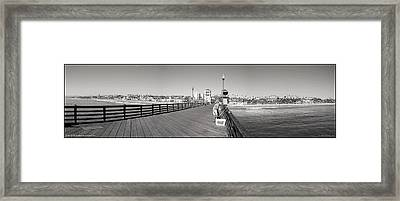 Oceanside From The Pier Framed Print