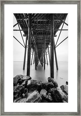 Oceanside Pier Framed Print by Alexander Kunz