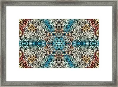 Oceanus S01-08 Framed Print by Variance Collections