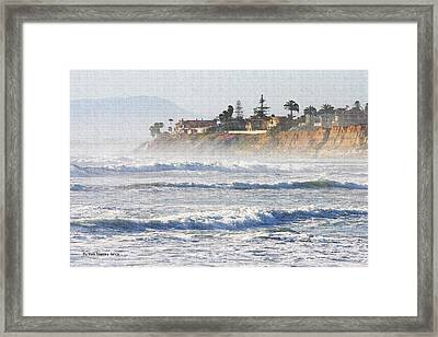 Framed Print featuring the photograph Oceanside California by Tom Janca
