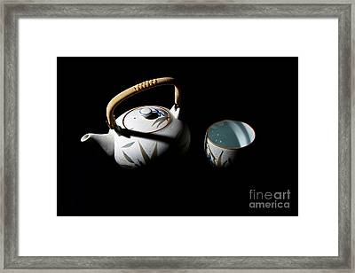 Framed Print featuring the photograph Ocha by Lawrence Burry