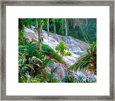 Ocho Rios Jamaica Framed Print