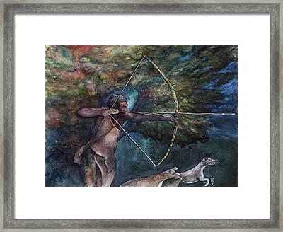 Ochosi Framed Print by Sophia Shultz
