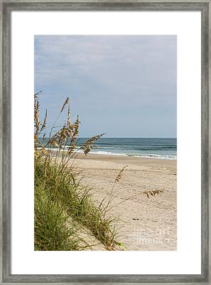 Ocracoke Beach Framed Print by Kay Pickens