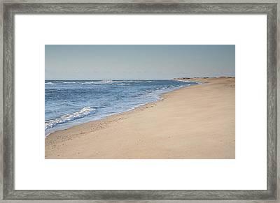 Ocracoke Beach Framed Print by Steven Ainsworth