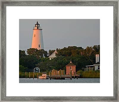 Ocracoke Island Framed Print
