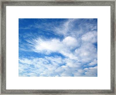 Angel Hugs Framed Print