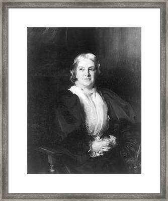 Octavia Hill (1838-1912) Framed Print by Granger