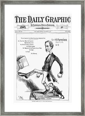 Octavius Brooks Frothingham(1822-1895) Framed Print