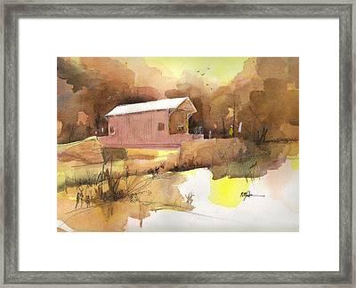 October 16th  Framed Print by Robert Yonke