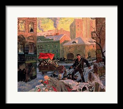 October Revolution Framed Prints