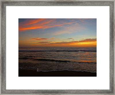 Framed Print featuring the photograph October Beauty by Dianne Cowen
