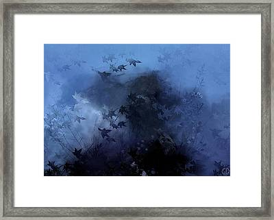 October Blues Framed Print by Gun Legler