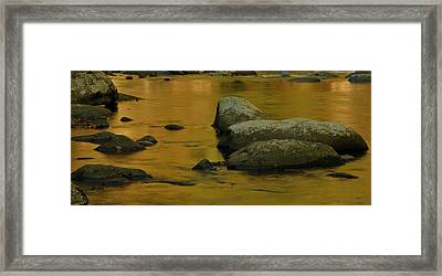 October Colors In Tennessee Framed Print by Dan Sproul