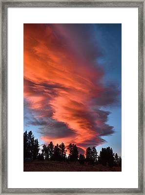 October Dawn Framed Print