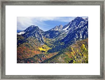 October End Framed Print
