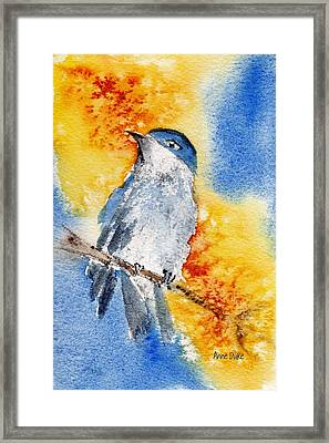 Framed Print featuring the painting October First by Anne Duke