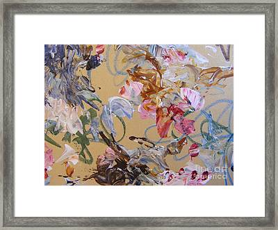 October Glow 1 Framed Print by Nancy Kane Chapman