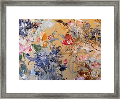 October Glow 2 Framed Print by Nancy Kane Chapman