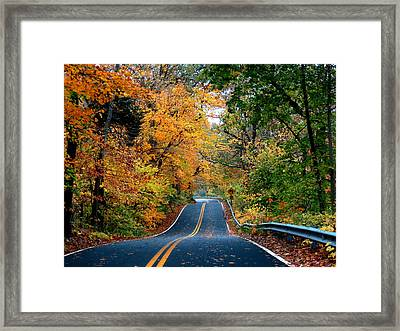 Framed Print featuring the photograph October In Dayton Ohio by Eric Switzer