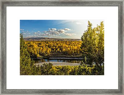 October In Heise Valley Framed Print by Yeates Photography