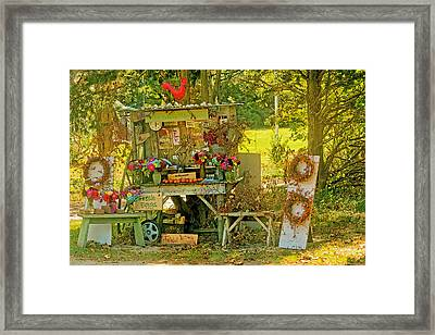 October Is Bittersweet Time On Cape Cod Framed Print
