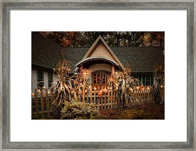 October Lights Framed Print by Robin-Lee Vieira