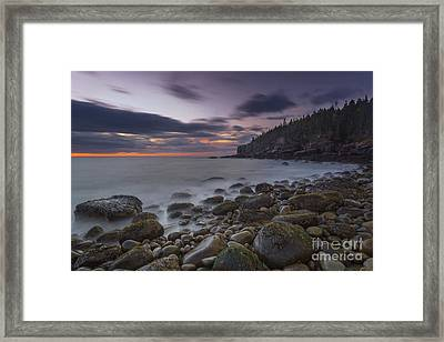 October Morning Framed Print by Marco Crupi