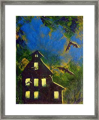 October One Framed Print by Kenny Henson