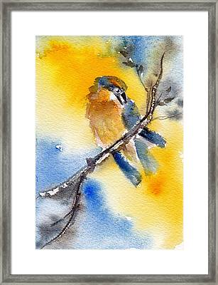 Framed Print featuring the painting October Second by Anne Duke