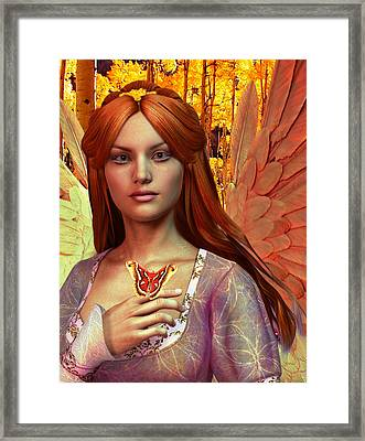 October Vision Framed Print by Suzanne Silvir
