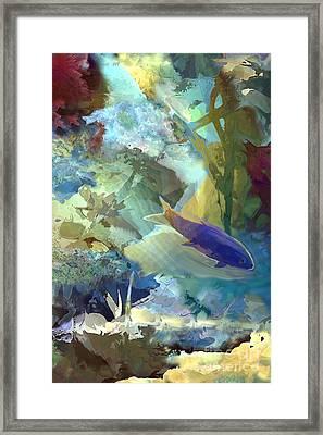 Octopus' Garden 1  Framed Print